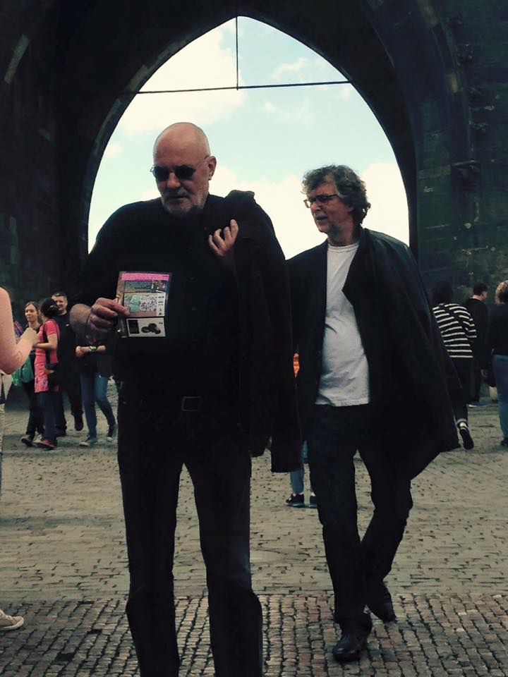 2015. Take 5 expo Most (Tsjechië).  Jan van Os en Peter van der Veen in Praag.