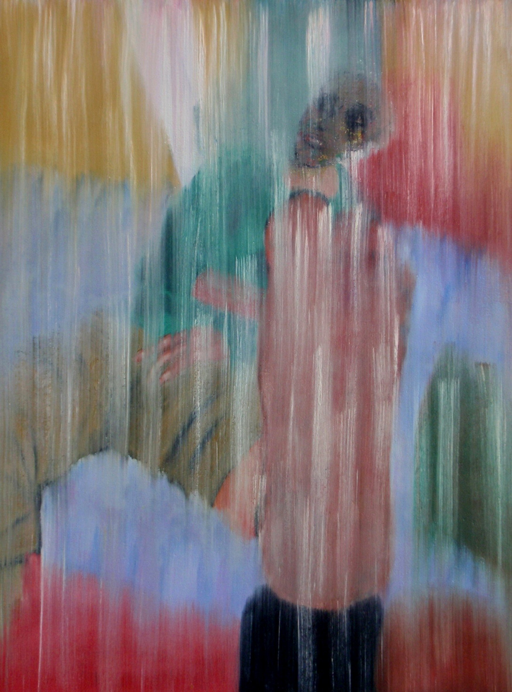 1986. Marianne. Oil on panel. 80x60 cm.