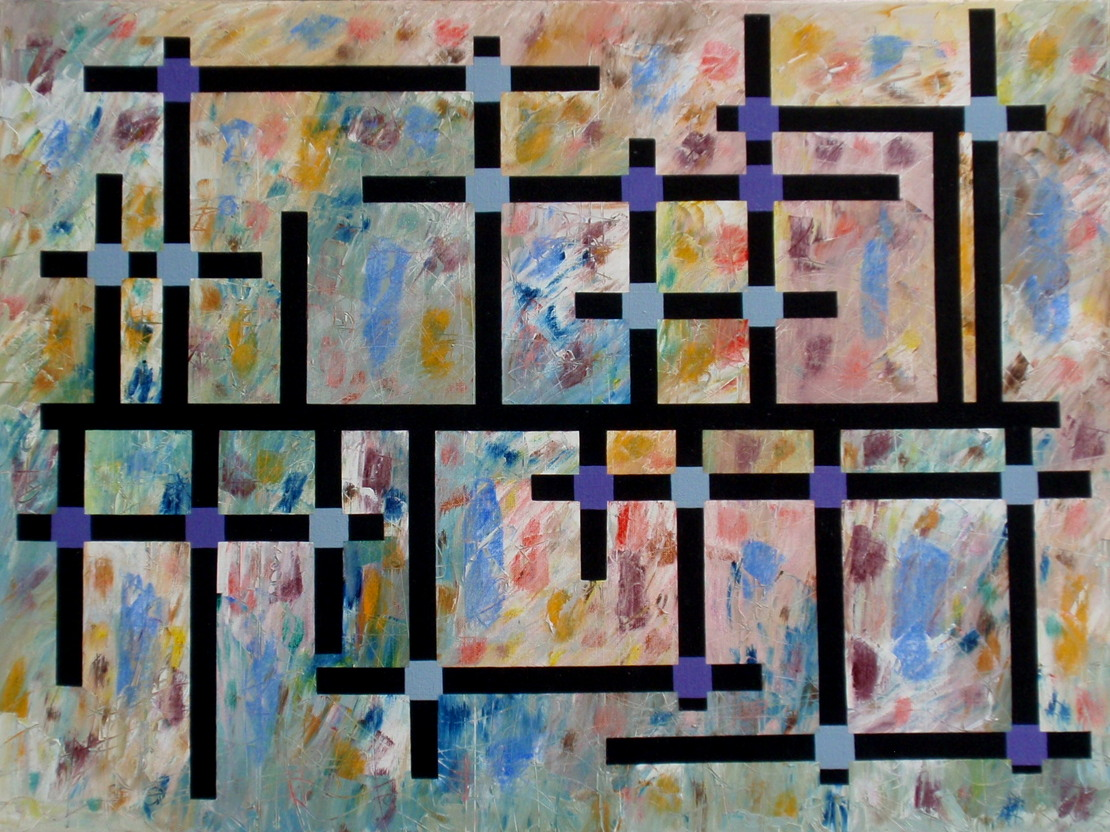 2005. Constellatie/Constellation. Oil on canvas. 60x80 cm.